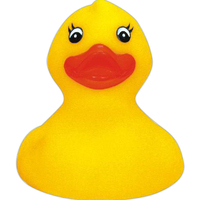 Floatable rubber duck