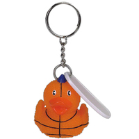 Basketball duck key chain