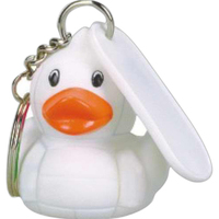 Volleyball duck key chain