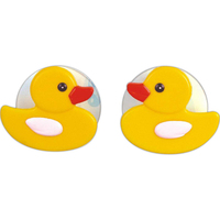 Rubber duck suction cups