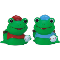 Mini rubber baseball frog
