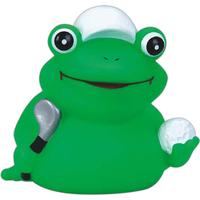 Rubber golfer frog