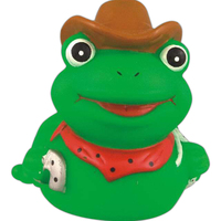 Rubber cowboy frog