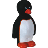 Speaking rubber penguin toy