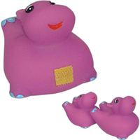 Hippo family toy