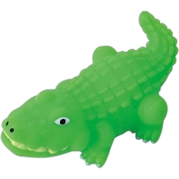 Rubber alligator toy