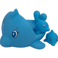 Dolphin family toy
