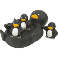 Penguin family toy