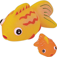 Rubber tropical fish toy