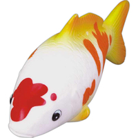 Rubber koi fish toy