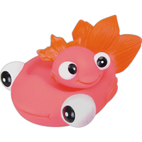 Fish family squeaking toys