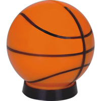 Basketball coin bank