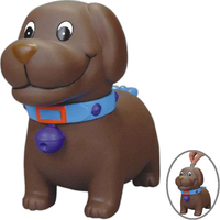 Rubber Man's Best Friend Doggie coin bank