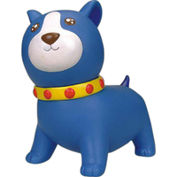 Rubber Ready Set Save Doggie coin bank