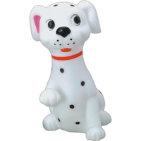 Rubber dalmation toy