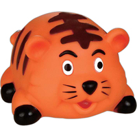 Rubber kitty toy