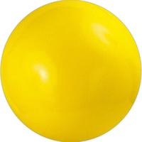 Solid yellow beach ball