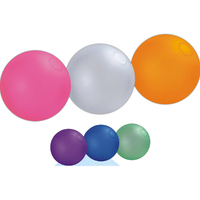 Opaque color beach ball
