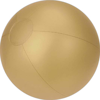 Gold beach ball