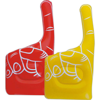 Inflatable cheering hand