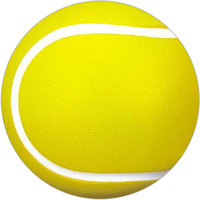 Tennis ball shaped stress ball