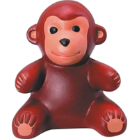 Monkey shaped stress reliever