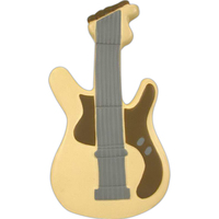 Guitar shaped stress reliever