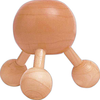 Wooden ball massager