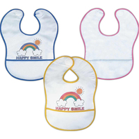 Terry cotton baby bib