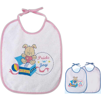 Adjustable baby bib
