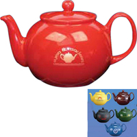 Colored Teapot with infuser