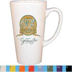 Vitrified cafe latte mug