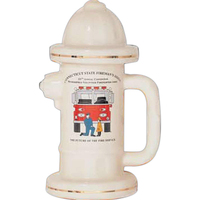 Fire hydrant shaped stein