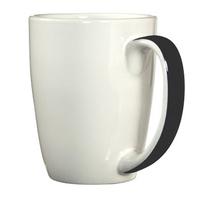 Mug with ribbon handle