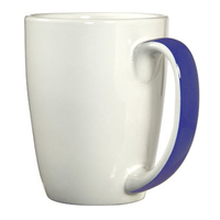 Ribbon handle mug