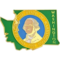 State - Washington State Shape Lapel Pin