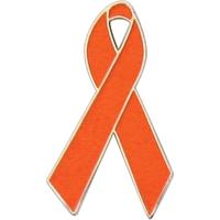 Awareness - Orange Ribbon Pin
