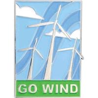 ECO Pin - Go Wind