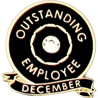 Outstanding Employee Of The Month Pin