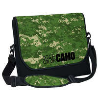 Extra Large Neoprene Messenger Bag with Strap - Digi Camo
