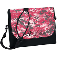 Standard Size Neoprene Messenger Bag with Strap - Digi Camo