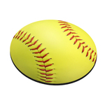 Standard Shape Mousepad - Softball