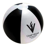 """Official Size Inflatable Beach Ball, Large 16"""" - E618KW"""