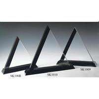Medium Crystal Triangle Panel Award