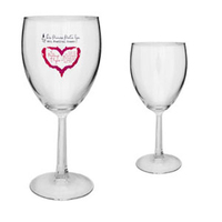 10.5oz Grand Noblesse Wine Glass with Hex Stem, spot color