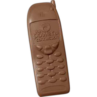Molded chocolate cell phone, 2.5 oz