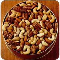 16 oz. Deluxe Mix Nuts Custom Gift Tin