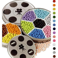 Three Flavor Sixlets in Small Movie Reel Tin