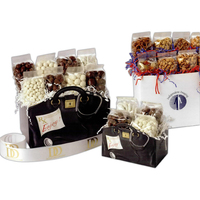 Black & White Solid Color Gift Box (Large)