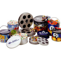 Nostalgia Candy Mix in Movie Reel Tin
